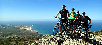 guided bicycle tour in sintra