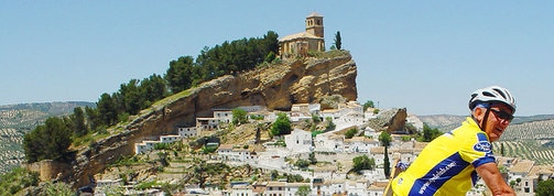 Montefrio in Andalucia bicycle tour Spain