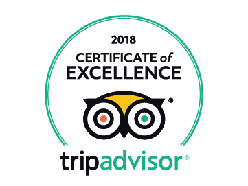 Tripadvisor certificate of excellence for Cycling Rentals
